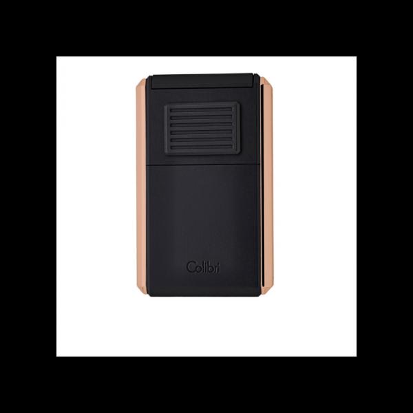 Colibri Astoria Lighter Black & Rose Gold